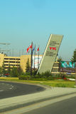 Entrée à l'aéroport international de Calgary Photos stock