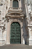 Entrée à la cathédrale Photos libres de droits