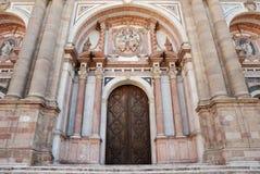 Entrée à la cathédrale Image libre de droits