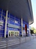 Entrée à la convention de Google E/S Android Photographie stock