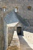 Entrée à la forteresse antique de la forteresse de mer Vieille ville de Herceg Novi, Monténégro image libre de droits
