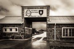 Entrée à la prison d'île de Robben photographie stock