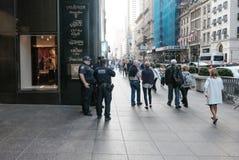 Entrée à la tour célèbre d'atout à Manhattan inférieure, New York City Photo libre de droits
