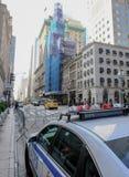 Entrée à la tour célèbre d'atout à Manhattan inférieure, New York City Image libre de droits