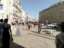 Entrée à la vieille ville photo libre de droits