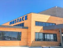 Entrée à PINSTACK dans Las Colinas, Irving, le Texas images stock