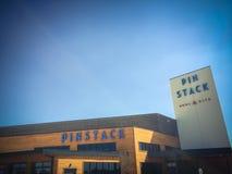 Entrée à PINSTACK dans Las Colinas, Irving, le Texas photographie stock libre de droits