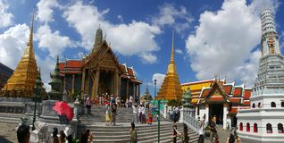 Entrée à Royal Palace, Bangkok, Thaïlande Photographie stock libre de droits