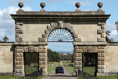 Entrée à Studley royal - cathédrale de Ripon Photos stock
