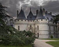 Entrée à un château Images libres de droits
