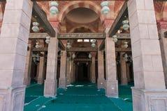 Entrée à un temple, Egypte Photo libre de droits