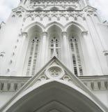Entrée à une cathédrale photographie stock