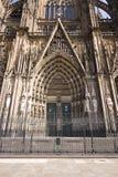 Entrée énorme de cathédrale Photos libres de droits