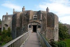 Entrée au château Photographie stock libre de droits