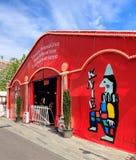 Entrée au cirque Knie à Zurich Images libres de droits