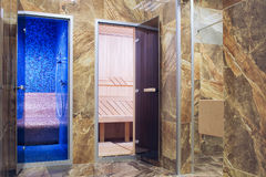 Entrée au hammam et au bain Image libre de droits