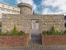 Entrée au jardin commémoratif de Na de ¡ de SÃÂochàde policier, Dublin photographie stock libre de droits