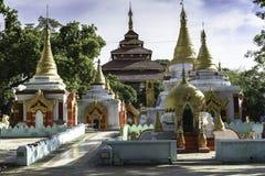 Entrée au monastère Images libres de droits