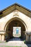 Entrée au monastère antique Image stock