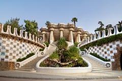Entrée au musée de Gaudi Photographie stock libre de droits
