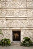 Entrée au palais en Indonésie soloe image stock