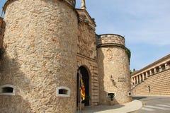 Entrée au pueblo Espanol Images stock