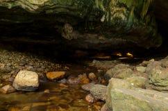 Entrée au que Lod Noi Cave photographie stock