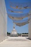 Entrée au sanctuaire de Fatima Photographie stock libre de droits