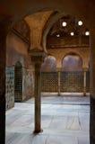 Entrée au steambath à alhambra Photo stock