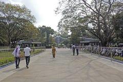 Entrée au zoo de Chennai Photographie stock
