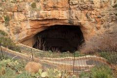 Entrée aux cavernes de Carlsbad photos libres de droits
