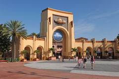 Entrée aux studios universels à Orlando Photo libre de droits