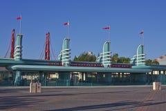 Entrée, aventure de Disney la Californie Images stock