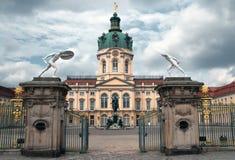 Entrée Berlin de palais de Charlottenburg Image libre de droits