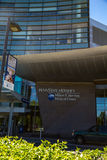 Entrée chez Penn State Hershey Medical Center Image stock