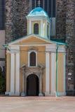 Entrée cistercienne d'église Photographie stock libre de droits