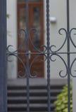 entrée coloniale de maison Images libres de droits