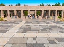 Entrée commémorative nationale du mont Rushmore photos libres de droits