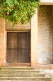 Entrée d'église Image libre de droits