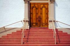 Entrée d'église Photos stock