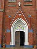 Entrée d'église images stock