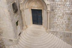Entrée d'église Photographie stock