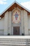 Entrée d'église photo stock