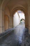 Entrée d'église Photo libre de droits