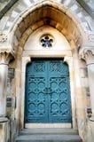 Entrée d'église de porte, route de Perth à Dundee Image stock
