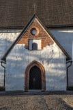 Entrée d'église luthérienne Images stock