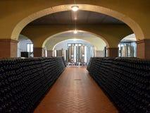 Entrée d'établissement vinicole Photo stock