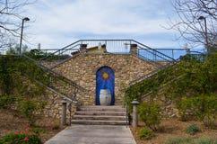 Entrée d'établissement vinicole de Miramonte Photo stock