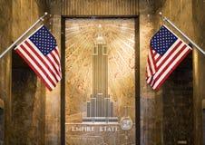 Entrée d'état d'empire Images libres de droits