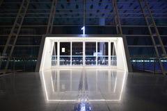 Entrée d'aéroport de Shenzhen Photo stock